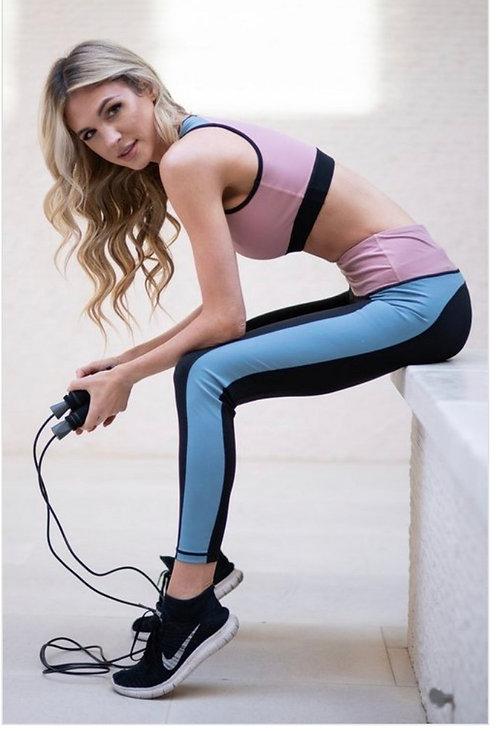 Colorblock Yoga Pants