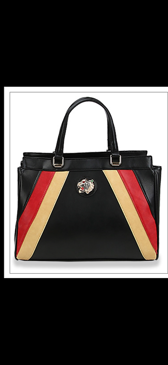 Lion Stripe Handbag
