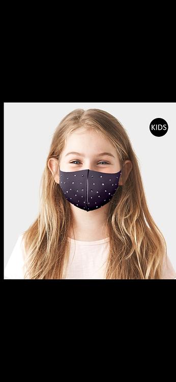 KIDS Bling Mask - Black