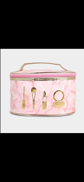 Square Makeup Bag - Pink