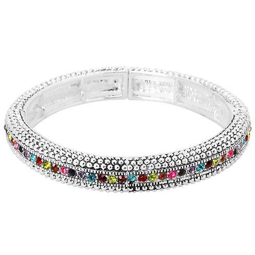 Vintage Silver Bracelet - Multi