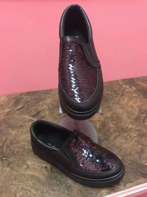 Sparkle Sneaker - Black