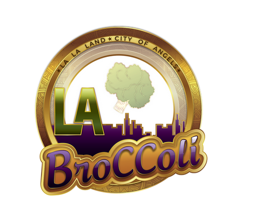LA BROCCOLI  LA  PURPLE GOLD 9  solid wh