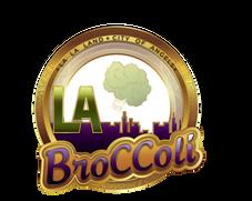 LA BROCCOLI  LA  PURPLE GOLD 9  solid wh