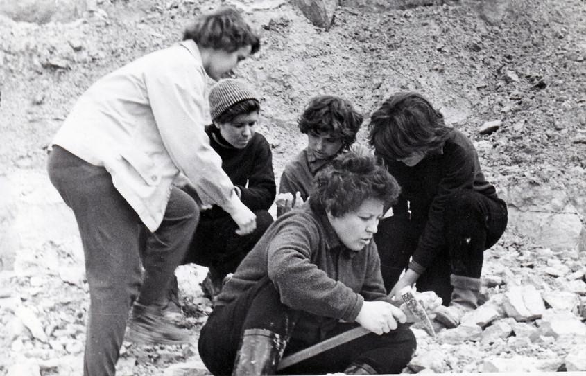 Весна 1961 г. МГРИ геологическая экскурс