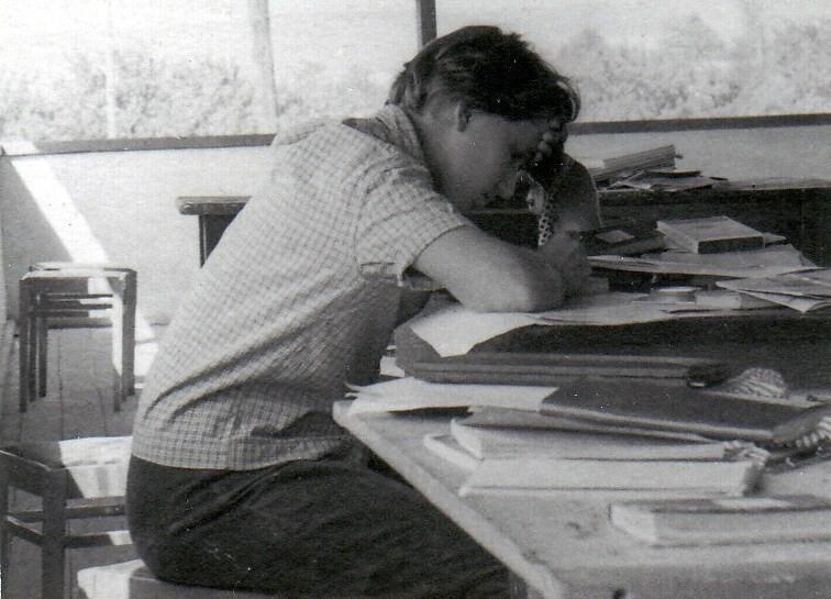 1962 г. Крымская практика Нина Куриленко