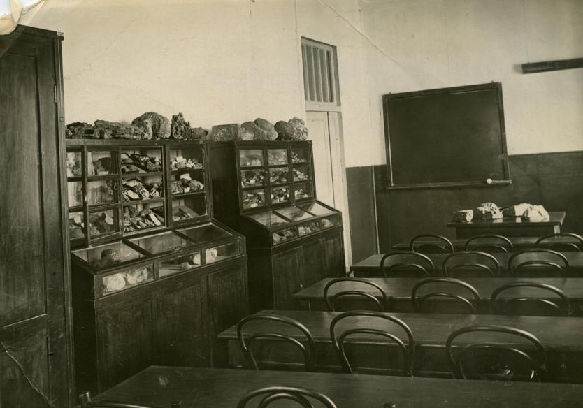 Аудитория кафедры ПИ, ориентировочно 60-е годы.   Из семейного архива профессора Е.Е. Захарова