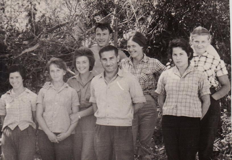 Август 1962 г. После Крымской практике м
