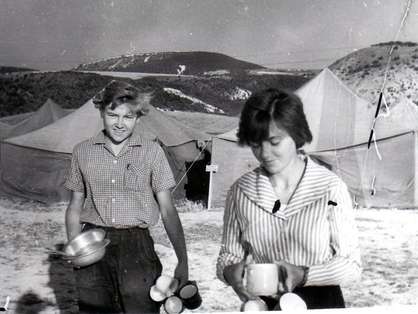 1962 г. Крымская практика. Утро после пр