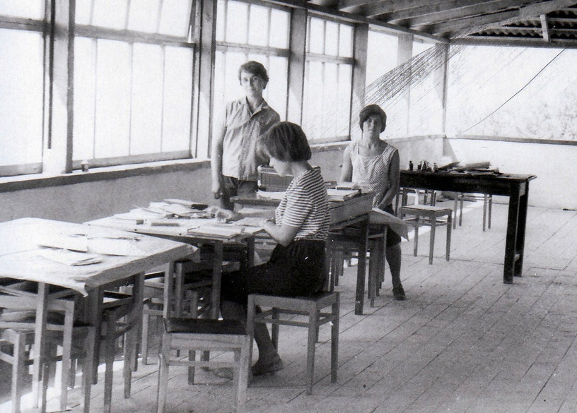 1962 г. Партизанское. Камералка. Ира Кап