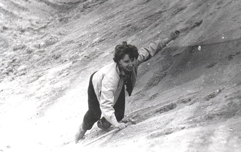 Весна 1961 г. геологическая экскурсия. Н