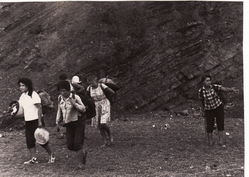 1962 г. Рыбачье. Нина Абдульманова, Зоя