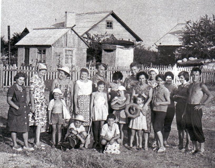 Август 1962 г. встреча с преподавателям