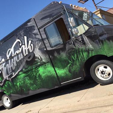 Monster Food Truck Vinyl Wrap