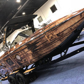 pirate ship boat wrap on this Tige