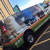 Denver Cats Colorado transport van wrap