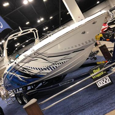 large boat custom designed wrap