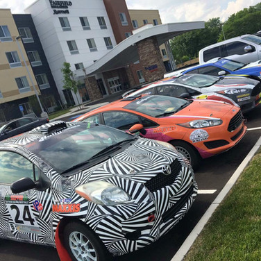 rally america race car livery wraps