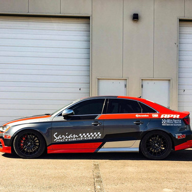 hpr and scca road racing custom livery