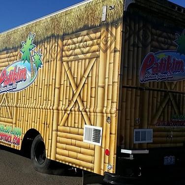 Custom designed Street Food Truck Vinyl Wrap