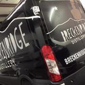 Full graphic wrap for Breckenridge Distillery