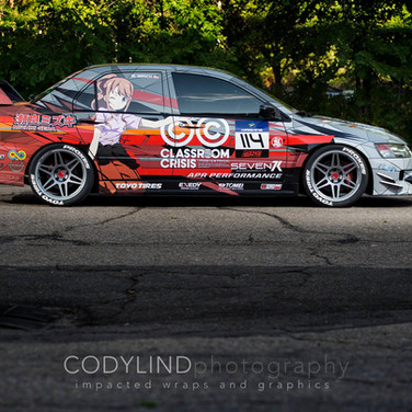race car vinyl livery