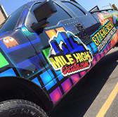 F150 Service vehicle coporate vinyl wrap for arcade company