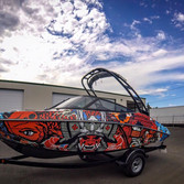 yamaha wakeboard boat vinyl wrap and covering