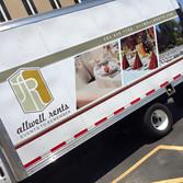 box truck full wrap for rental company in Denver, Colorado
