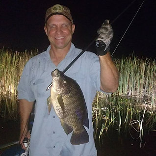 Friday night was great for bowfishing. T
