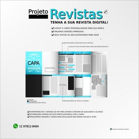 Projeto revistas digitais