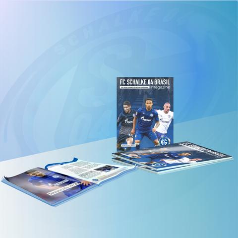 Propaganda revista 1 Schalke 04 Brasil