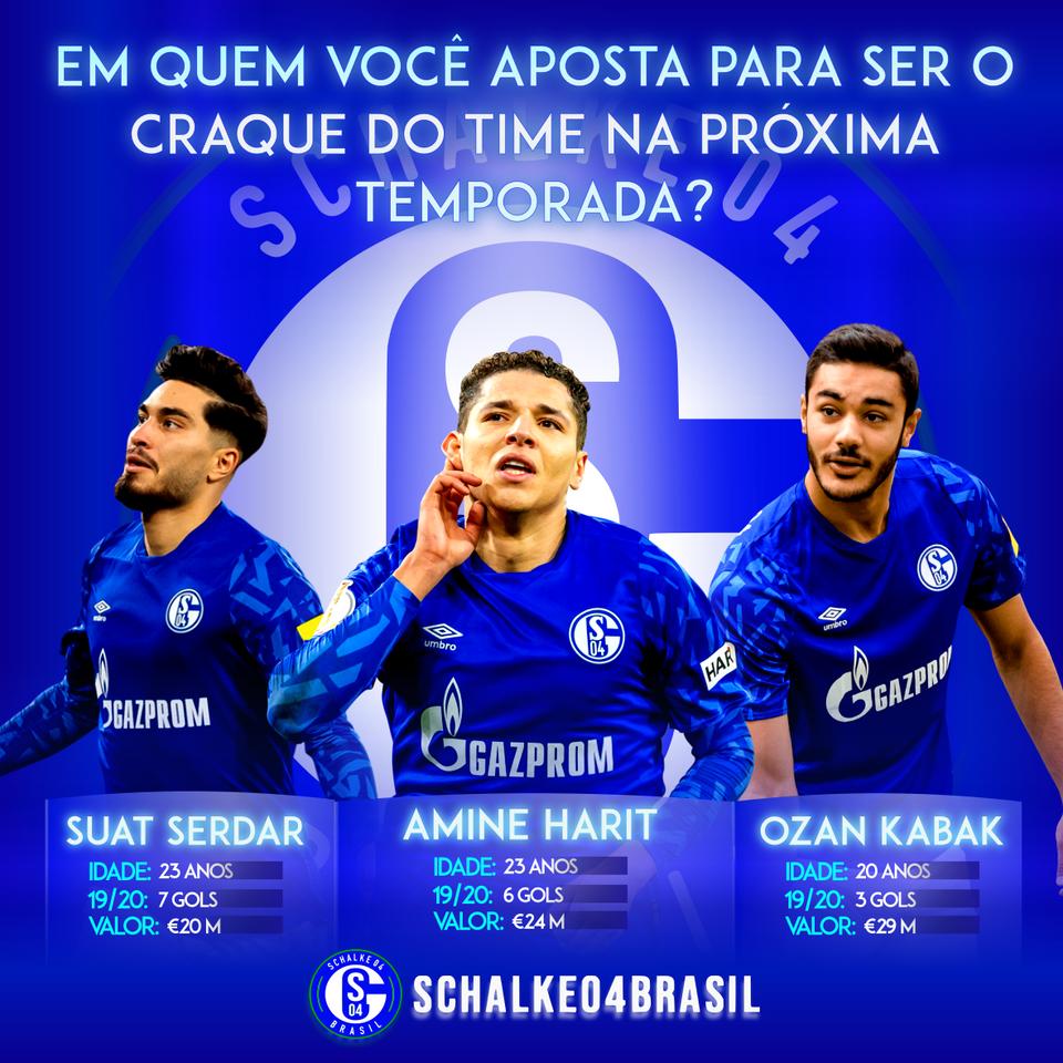 Arte experimental Schalke 04 Brasil