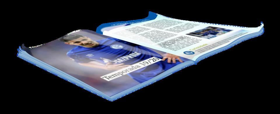 Arte revista 1 aberta Schalke 04 Brasil