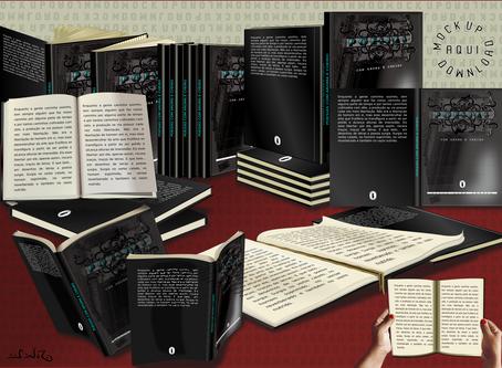 Modelos de livros em PNG para download GRÁTIS