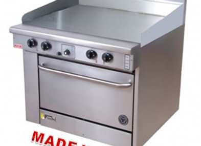 Goldstein 1200mm Griddle 1010 mm wide Fan Forced Oven Range PF-48G-40FF