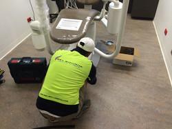 dental chair install