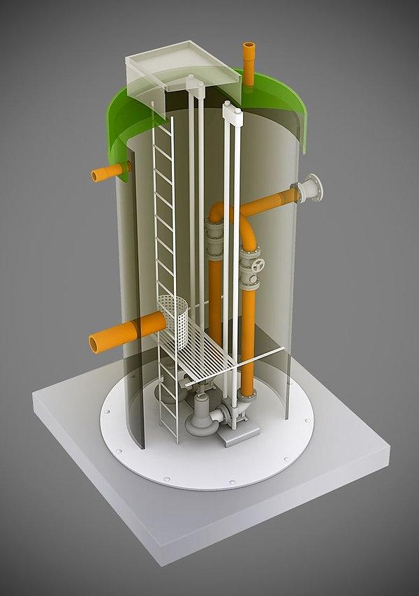 визуализация башни