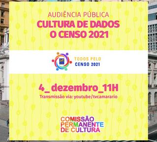 Audiência pública sobre o Censo 2021