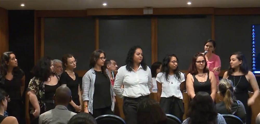 Uma parte do grupo que integra o projeto EPCC
