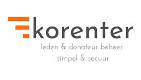 Preview: Korenter, leden & donateurbeheer, simpel & secuur