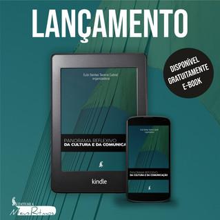 """Lançamento da obra """"Panorama reflexivo da Cultura e da Comunicação"""" tem autores confirmados"""