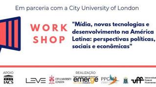 Mídia, novas tecnologias e desenvolvimento na América Latina são debatidos no Brasil e na Inglaterra