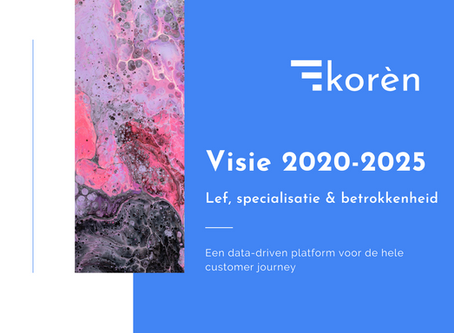 Korèn, een data driven plaform voor de hele customer journey