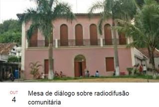 Radiodifusão comunitária em pauta