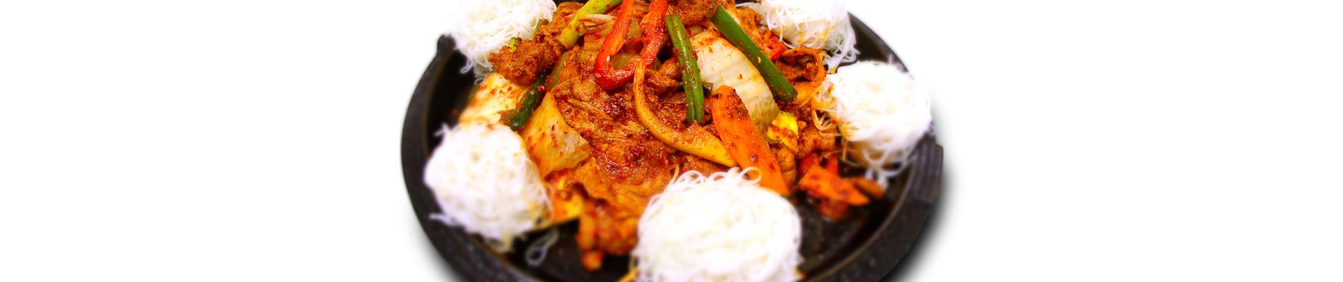 Stir-fried Sliced Pork & Kimchi