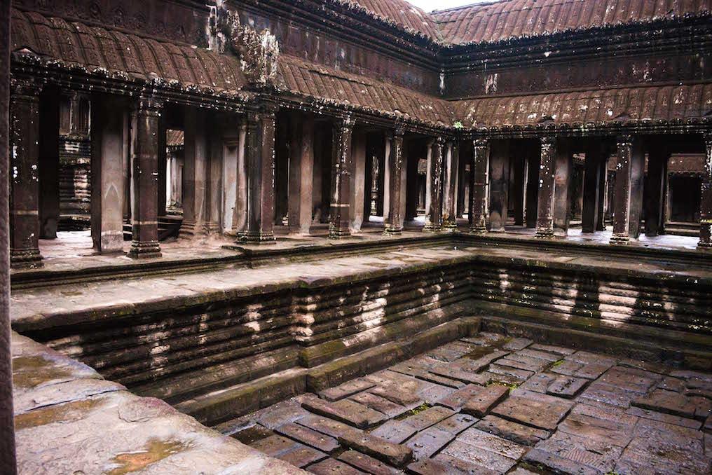 cambodia -angkor Watt interior