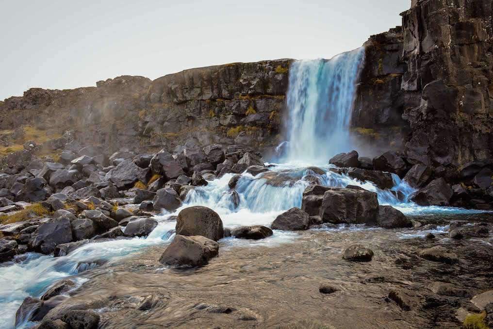 Iceland - Penviller Waterfall
