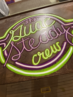 Guac Steady Crew Neon Sign