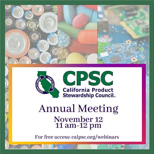 CPSC Annual Meeting